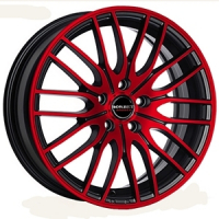 BORBET CW 4/5 Red Front Polished