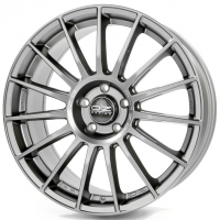 OZ RACING SUPERTURISMO LM Matt Graphite Silver