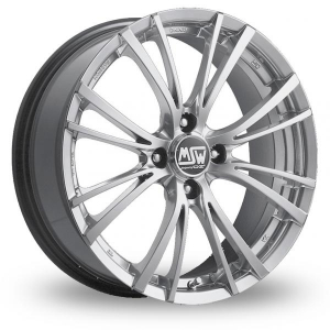 Диски MSW 20/4 Silver Full Polished 7x16 4x108 ET25 D73.1