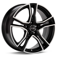 OZ RACING ADRENALINA Machined w/Flat Black Accent